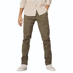 Rag & Bone Mens Fit 1 Low-Rise Slim Chino Pants 31